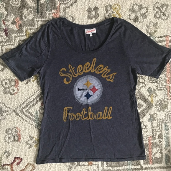 d5f0a7989 Junk Food Clothing Pittsburgh Steelers T-Shirt XL